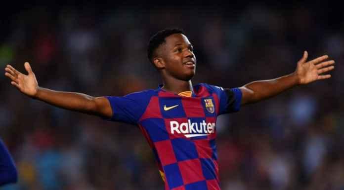 Hasil Barcelona vs Valencia di Liga Spanyo tadi malam - Anssumane Fati