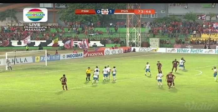 Hasil PSM Makassar vs PSIS Semarang 0-1, Kekalahan Kandang Pertama
