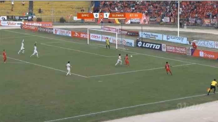 Hasil Semen Padang vs PSS Sleman 0-1, Sukses Meroket ke Empat Besar