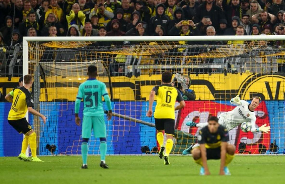 Hasil Borussia Dortmund vs Barcelona