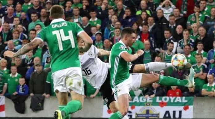 Hasil Irlandia Utara vs Jerman di Kualifikasi Piala Eropa 2020