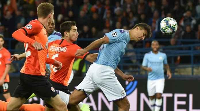 Hasil Liga Champions antara Shaklhtar Donetsk vs Manchester City tadi malam