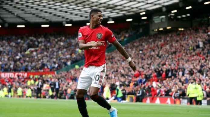 Manchester United vs Leicester City menghasilkan Liga Inggris 2019-2020