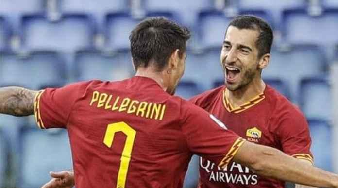 Hasil Roma vs Sassuolo di pertandingan Liga Italia - Henrikh Mkhitaryan
