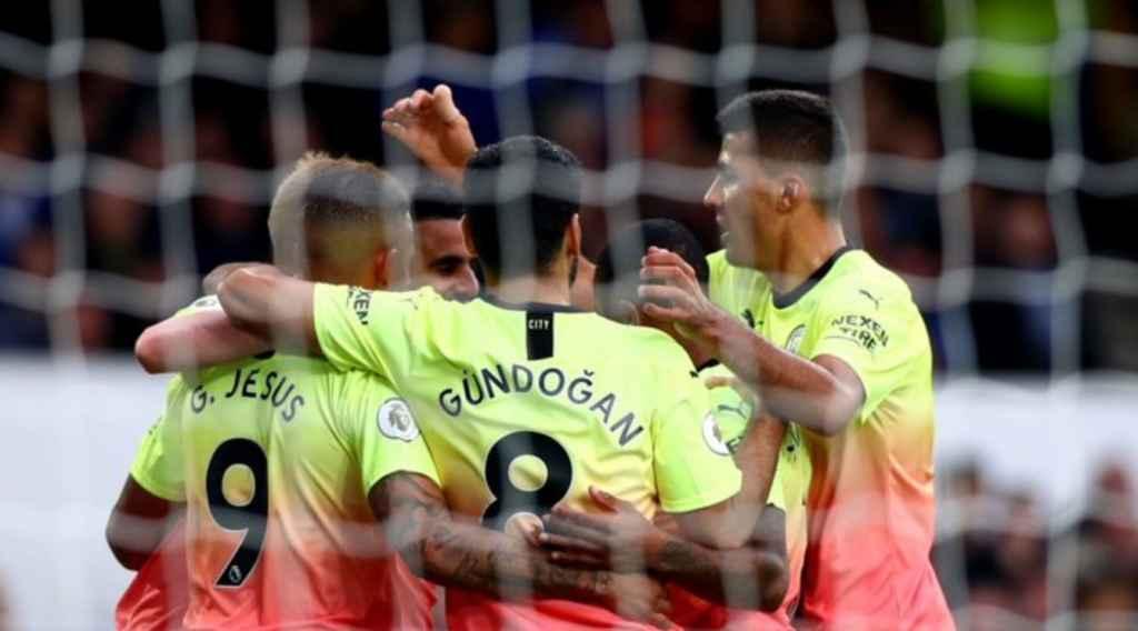 Hasil Pertandingan Everton Vs Manchester City Skor 1 3 Gilabola Com