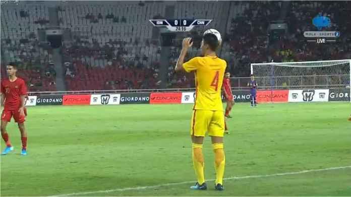 Indonesia vs China 0-0, Garuda Merah dan Naga Kuning Sama Kuat