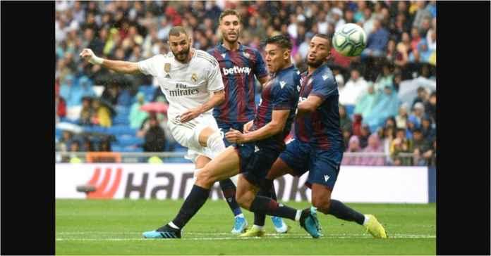 Real Madrid Unggul 3-0 Berkat Dua Gol Benzema Dalam Enam Menit