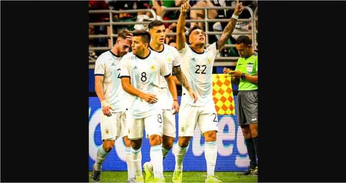 Argentina vs Meksiko 4-0, Striker Inter yang Terlupakan Cetak Hat-trick