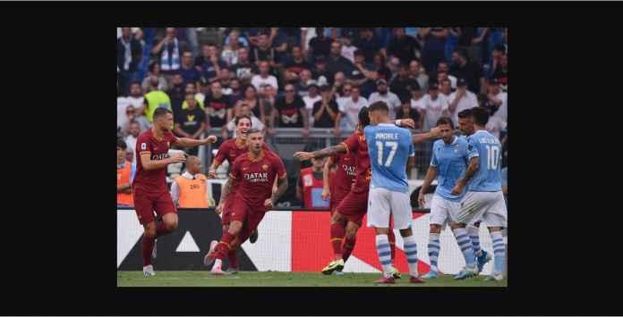 Hasil Lazio vs Roma 1-1 Sepantasnya Setelah Empat Kali Saling Bantai