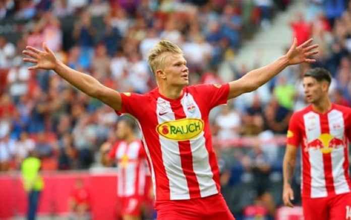 RB Salzburg Tak Takut pada Liverpool, Kata Haaland