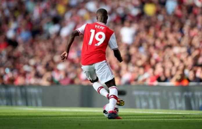 Arsenal Proyeksikan Pepe Gantikan Alexandre Lacazette