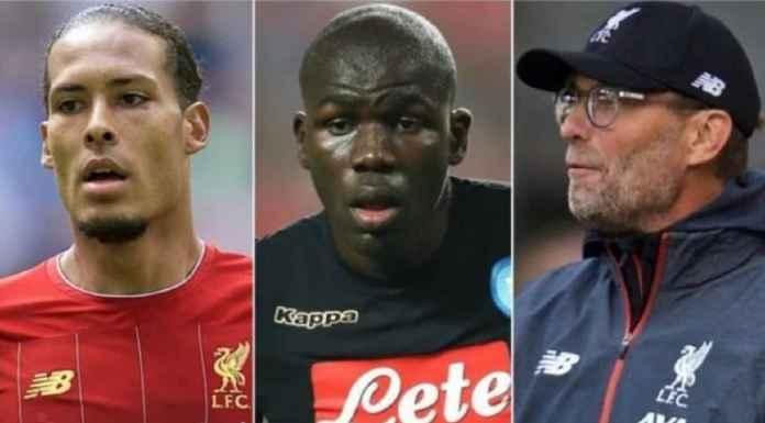 Liverpool Bisa Amati Bek Napoli Calon Pengganti Van Dijk