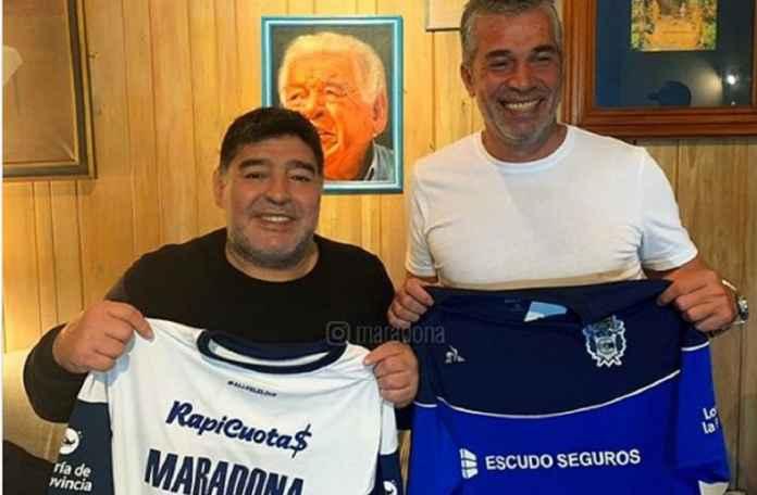 Diego Maradona Melatih Lagi
