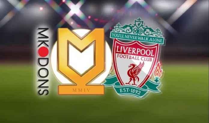 Prediksi MK Dons vs Liverpool, Piala Liga 26 September 2019