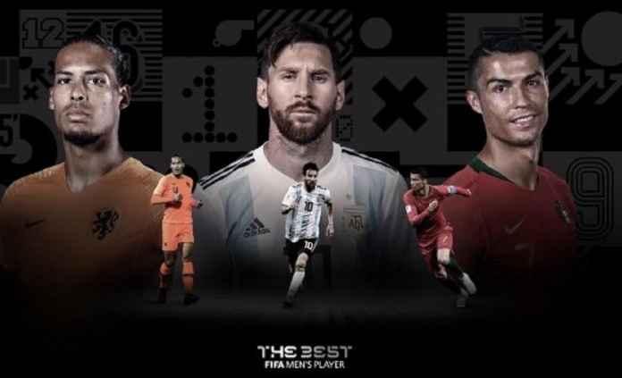 Virgil van Dijk Masuk Daftar Tiga Finalis Pemain Terbaik Fifa