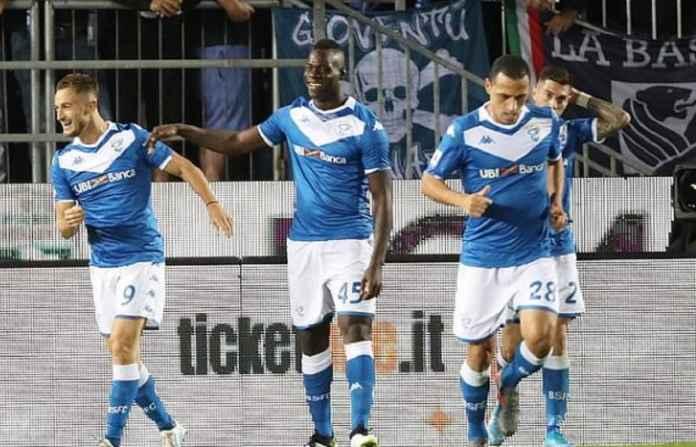 Pemain Brescia Bangga Duet dengan Mario Balotelli