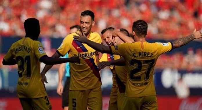 Barcelona Bisa Mainkan Lini Depan Terkuat Kontra Valencia