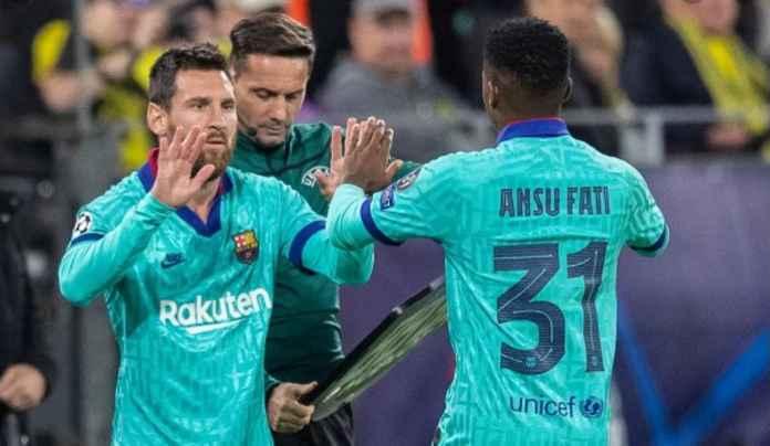 Lionel Messi Minta Barcelona Pagari Ansu Fati