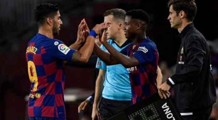 Luis Suarez Terus Dibayangi Pemain Muda Barcelona