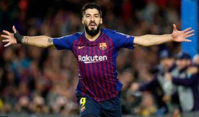 Luis Suarez Tebus Kesalahan Saat Barcelona Tandang ke Granada