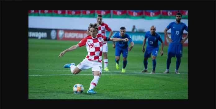 Azerbaijan vs Kroasia 1-1, Bintang-bintang La Liga Tak Berkutik!
