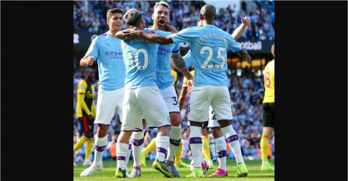 Hasil Manchester City vs Watford 8-0 Pemain Portugal Hat-trick