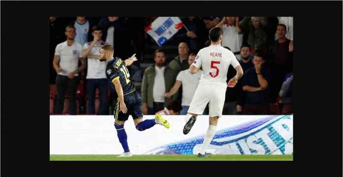 Inggris Kebobolan Gol 34 Detik Berkat Assist Pemain Everton Ini