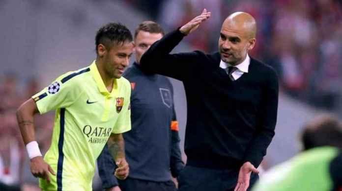Neymar dan Pep Guardiola buat Lionel Messi kesal