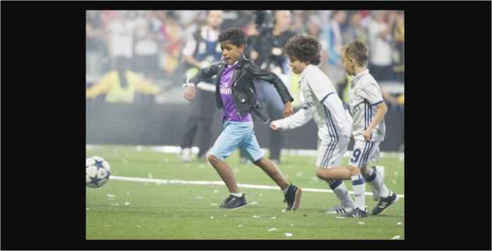 Anak Bek Real Madrid Ini Jadi Pesaing Berat Ronaldo Junior