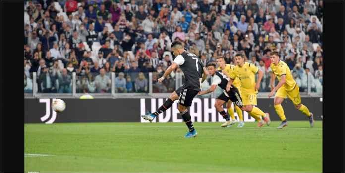 Hasil Juventus vs Verona 2-1 Selamat Berkat Penalti Ronaldo
