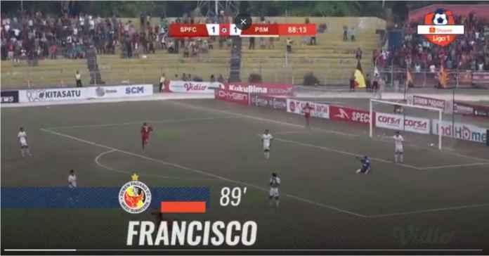 Semen Padang vs PSM 2-1 Kemenangan Ketiga Kabau Sirah