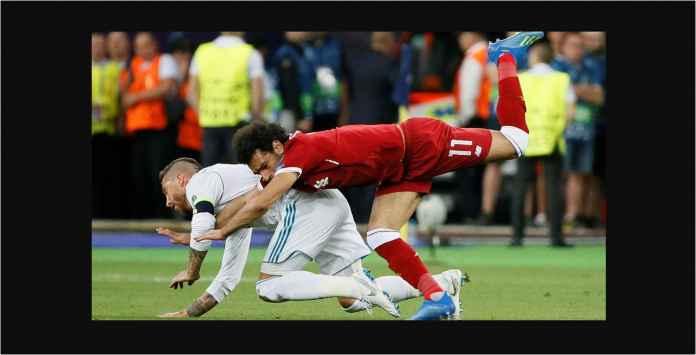 Kapten Real Madrid Sergio Ramos Pilih Mohamed Salah, Mau Berbaikan