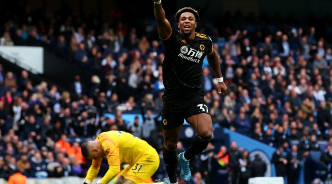 Adama Traore cetak gol kedua bagi Wolves