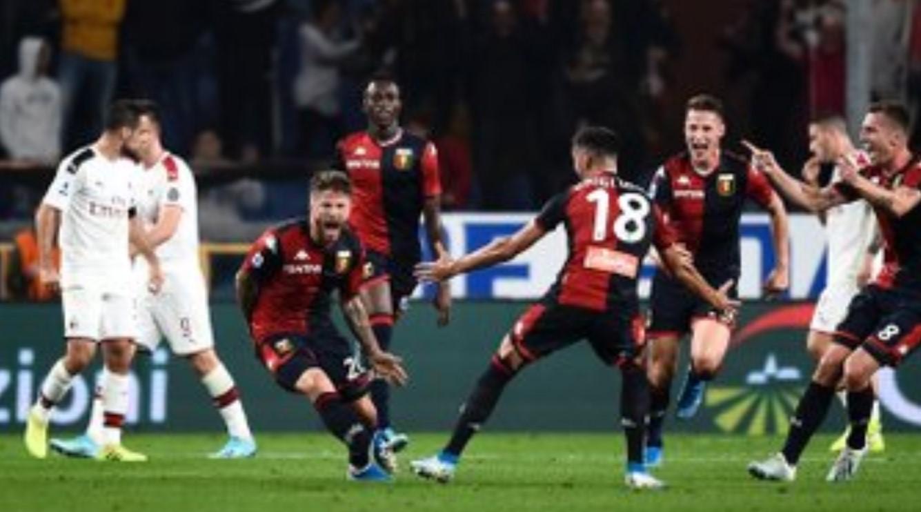 Genoa vs AC MIlan 1-0
