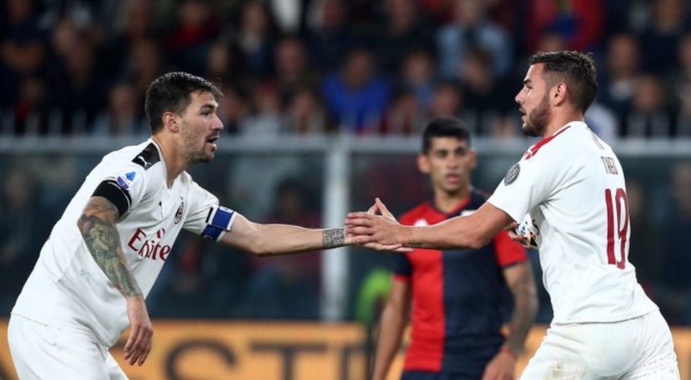 Genoa vs AC MIlan 1-1