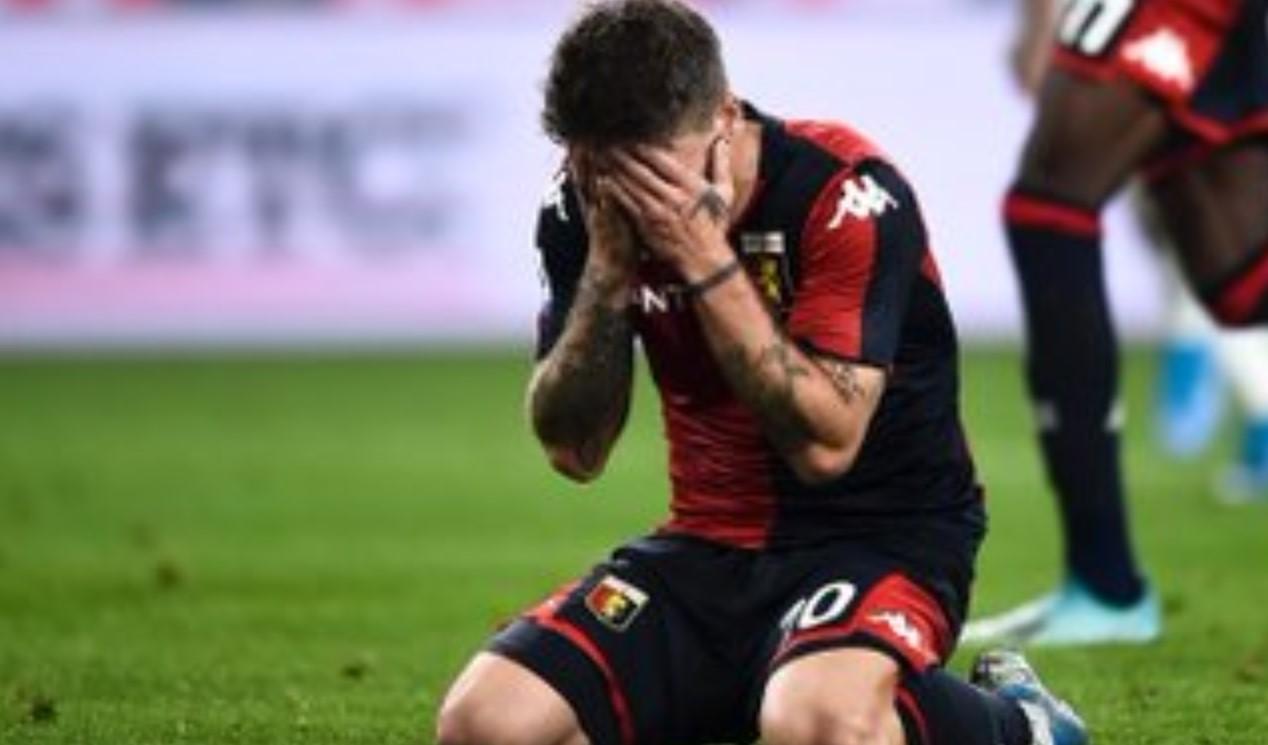 Genoa vs AC MIlan 1-2 - Penalti Gagal