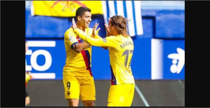 Hasil Eibar vs Barcelona 0-3 Gusur Real Madrid Dari Puncak Liga Spanyol