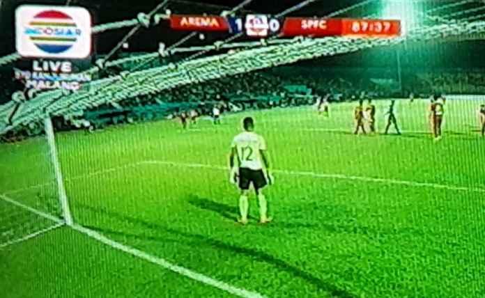 Hasil Arema FC vs Semen Padang 1-0, Diselamatkan Penalti