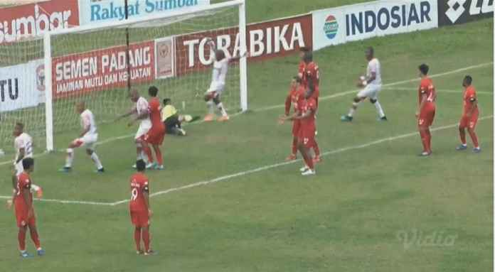 Hasil Semen Padang vs Persipura Jayapura 1-2, Kalah Lagi di Kandang Sendiri