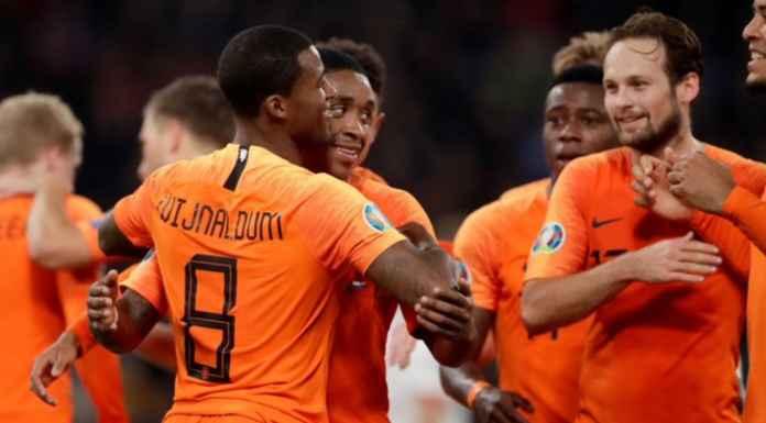 Hasil Kualifikasi Sepak Bola Eropa 2020 - Belarusia vs Belanda