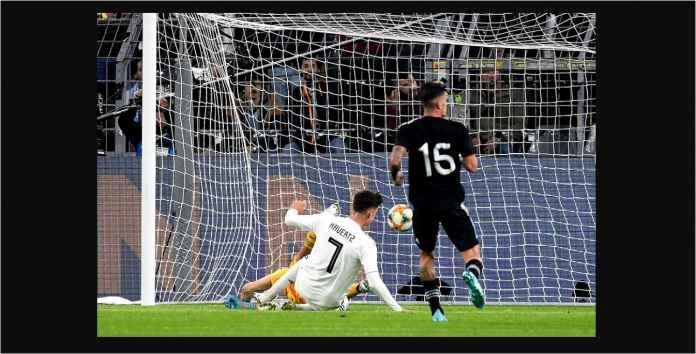 Hasil Jerman vs Argentina 2-2, Albiceleste Bangkit Dari Defisit Dua Gol!