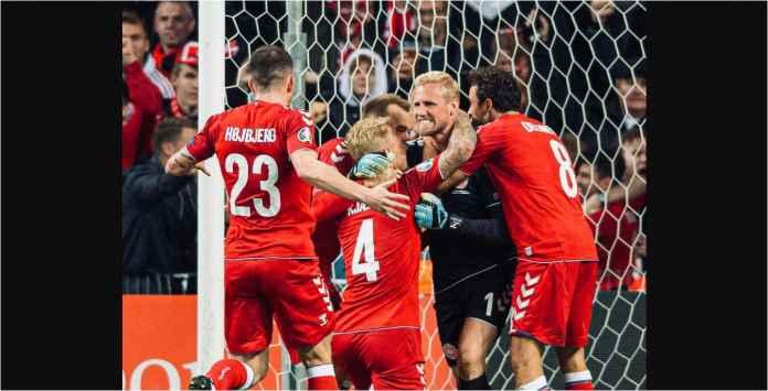 Kasper Schmeichel Dua Kali Selamatkan Denmark Tadi Malam