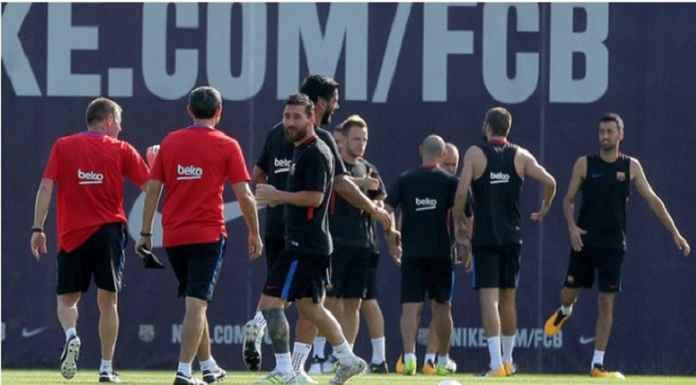 Ernesto Valverde Hadapi Dilema Jelang Barcelona Kontra Slavia Praha