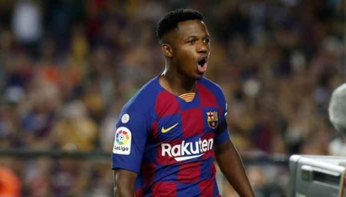 Barcelona Lepas Ansu Fati ke Timnas Spanyol U-21
