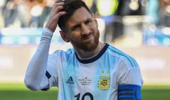 Lionel Messi Bikin Timnas Argentina Menangis Usai Copa America