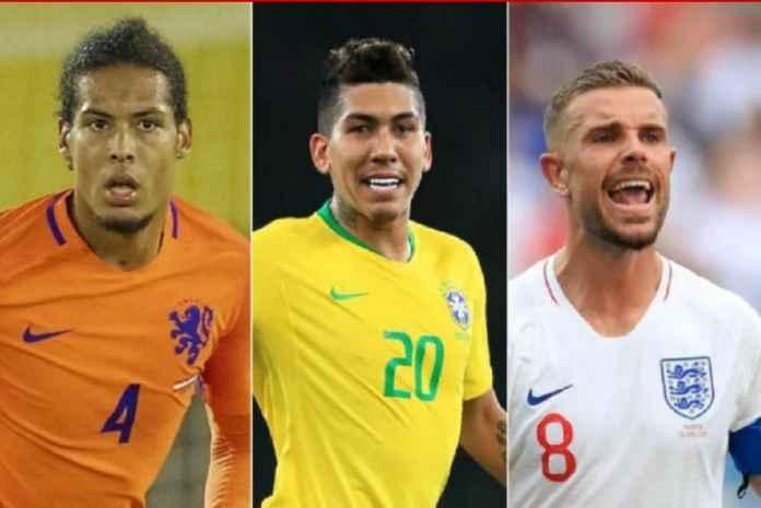 Liverpool melepaskan 28 pemain saat jeda internasional kali ini