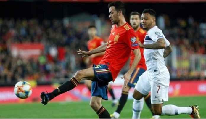 Timnas Spanyol Mainkan Lagi Satu-satunya Pemain Barcelona