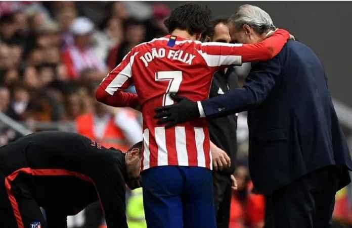 Atletico Madrid Tanpa Joao Felix di Empat Hingga Enam Laga