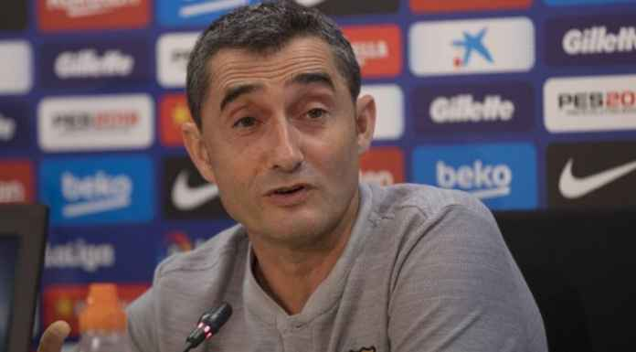 Ernesto Valverde Ingin Barcelona vs Real Madrid Tetap di Camp Nou