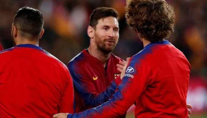 Lionel Messi Bantah Griezmann, Tegaskan Barcelona Kompak